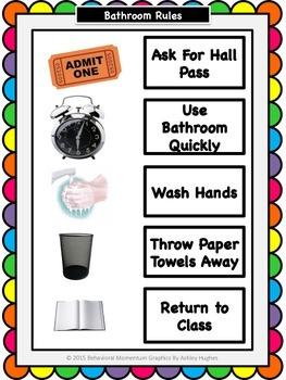 Bathroom Visual Rules