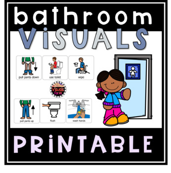 Bathroom Visuals by Visuals for All | Teachers Pay Teachers