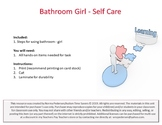 Bathroom Visuals - Girl