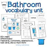 Bathroom Vocabulary Life Skills Unit (Special Ed and Autism Resource)