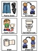 Bathroom and Hand Washing Visual Schedule
