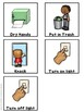 Bathroom and Hand Washing Visual Schedule