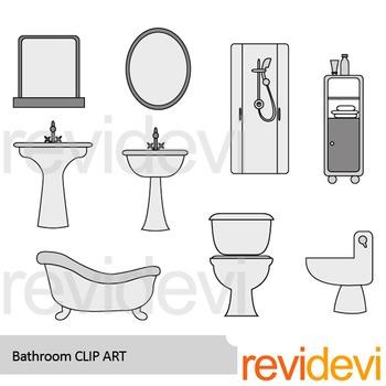 Bathroom clip art