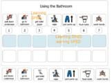 Bathroom routine chart special education