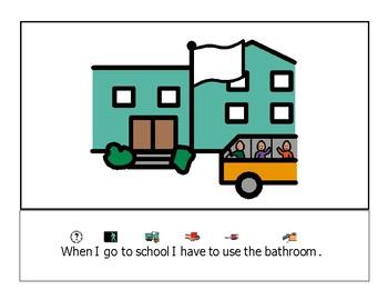 Bathroom social story