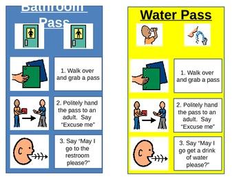 Bathroom/Water Passes