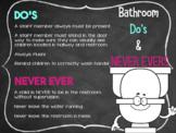 Bathrooms DO's & DON'TS