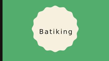 Batiking