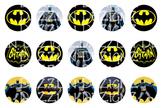 Batman - 1 Inch Circle - Bottle Cap Image - Bingo Chips -