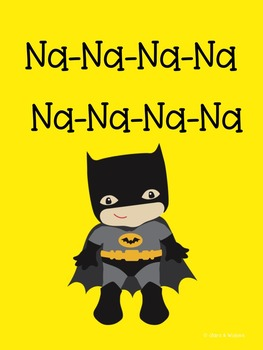 Batman Attention Getter Posters
