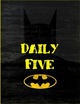 Batman Daily Five Posters