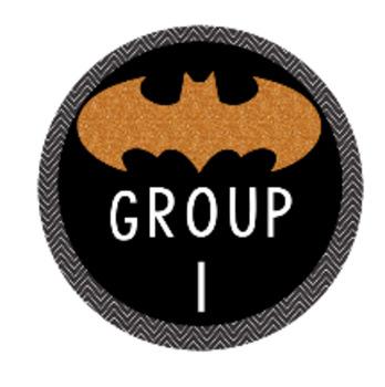 Batman Group Numbers (Super Hero) Growing