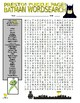 Batman Puzzle Page (Wordsearch and Criss-Cross)