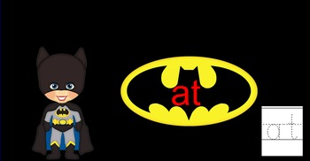 Batman Sight Words