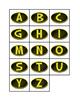 Batman Style Letter Alphabet Folders