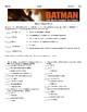 Batman: The Dark Knight Returns By Frank Miller, Worksheets, Assessment Unit