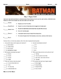 Batman: The Dark Knight Returns By Frank Miller, Worksheet