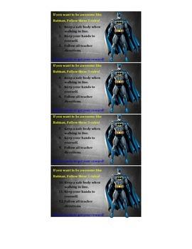 Batman Ticket Incentive