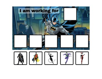 Batman Token Board - 2 options!