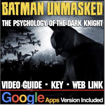Batman Unmasked: Psychology of the Dark Knight Video Guide
