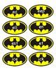 Batman Word Family Cards