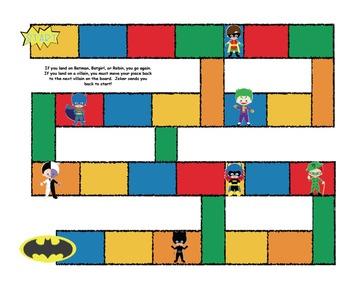 Batman game board