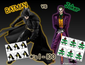Batman vs. Joker - number game