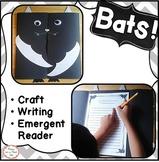 Bats Halloween Writing and Stellaluna Craft first, second, third grade