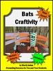 Bat Craft for Stellaluna or Halloween Activities Toilet Pa
