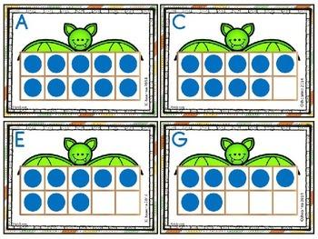 Bats - Math Task Cards