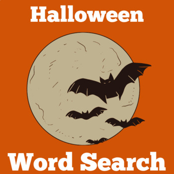 Bats Worksheet Word Search