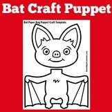 Bats | Preschool Kindergarten 1st Grade | Craft Activity |
