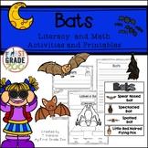Bats - Literacy and Math Activities
