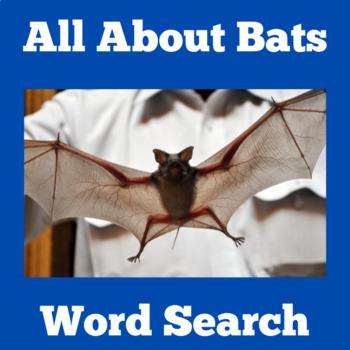 Bats | Bats Activity | Bats Unit | Bats Halloween | Bats Science