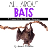 All About Bats Unit: Life Cycle, Fact Sheets, Interactive Notebook Pages, Craft