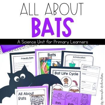 Bats Unit: Life Cycle, Fact Sheets, Interactive Notebook P