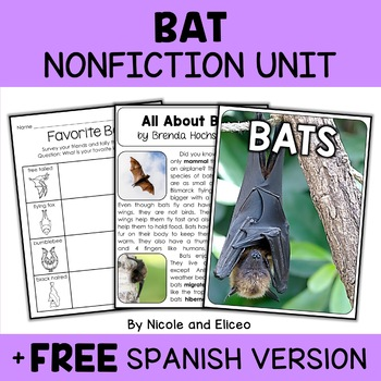 Nonfiction Bat Unit Activities