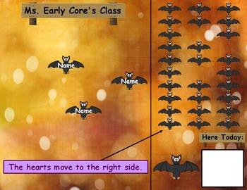 Bats Attendance Board