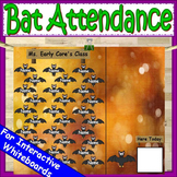 Halloween Attendance for Smartboard | Attendance Sheet Editable Attendance Chart