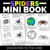 Spiders Mini Book