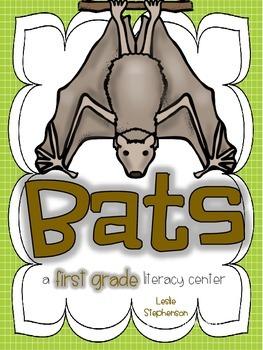 Bats - A First Grade Literacy Center