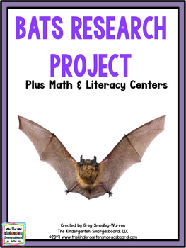 Bats!  A Halloween Research And Writing Creation!