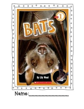Bats: A Nonfiction Book packet