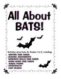 Bats! Bat Activities for Grade 1-5