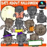 Bats About Halloween Clip Art Bundle {Educlips Clipart}