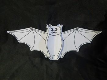 Bats Activities: 3D Bats Craft Activity Packet