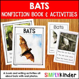 Bats Kindergarten Book and Activities