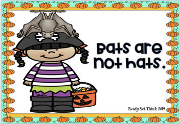 Bats Are Not Hats - Science, Reading, Reading Comprehension K, 1