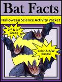 Bats Activities: Bat Facts Halloween Science Activity 2nd