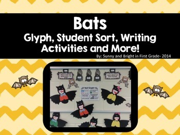 Bats Nonfiction Unit Including Bat Glyph, Student Sort, Main Idea, & More!